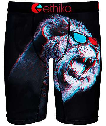 Ethika King Of 3D Boys Boxer Briefs