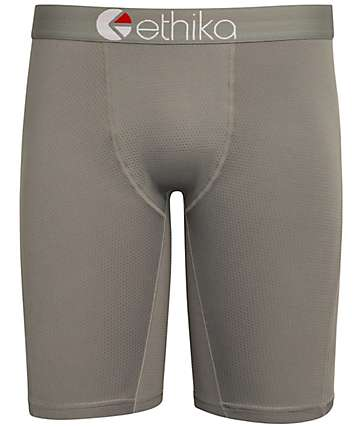 Ethika MicroMesh Performance Dark Grey Boxer Briefs