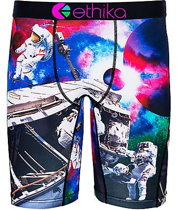 Ethika Space Skaters Multicolored Boxer Briefs