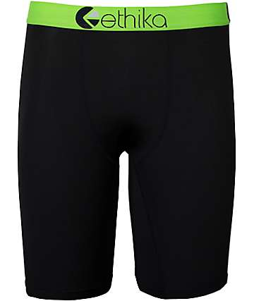 Ethika SubZero Performance Green Boxer Briefs