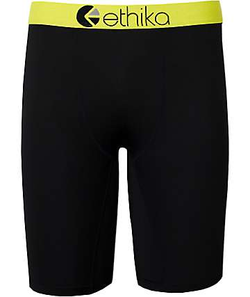 Ethika SubZero Performance Yellow Boxer Briefs