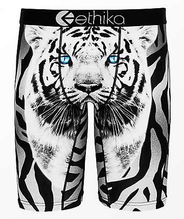 Ethika White Tiger calzoncillos bóxer para niños