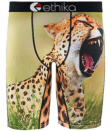 Ethika You A Cheetah Boys Boxer Briefs