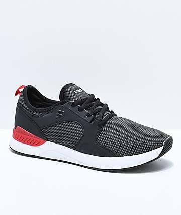 Etnies Cyprus SC Sheckler Black, Red & White Shoes