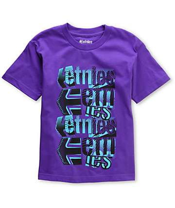 Etnies El Camino Purple Boys T-Shirt