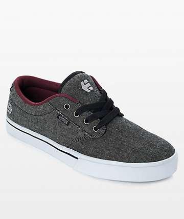Etnies Jameson 2 Eco zapatos de mezclilla negra
