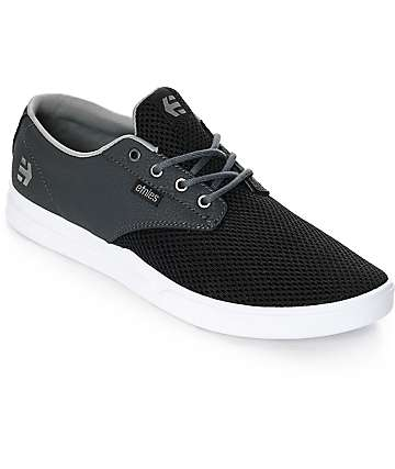 Etnies Jameson SC Black, Charcoal & White Shoes