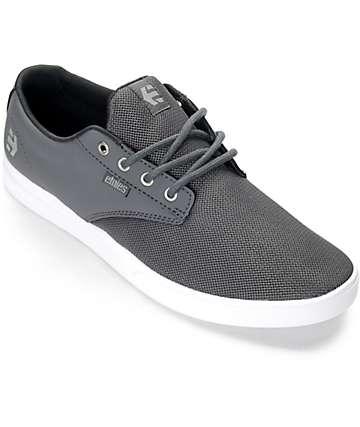 Etnies Jameson SC zapatos en gris y blanco