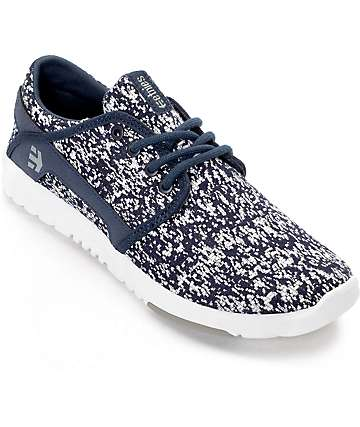 Etnies Scout Navy & Grey Shoes