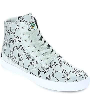 Etnies Vegan Jameson HT zapatos de skate en gris y blanco
