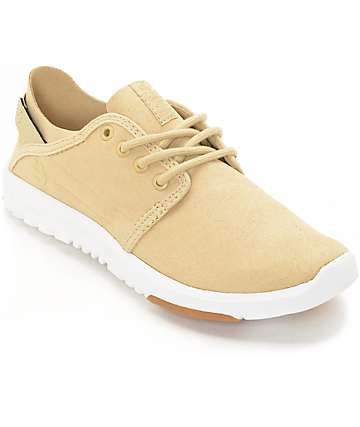 Etnies Women's Scout Taupe Shoes