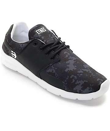 Etnies x Grizzly Scout Black & White Shoes