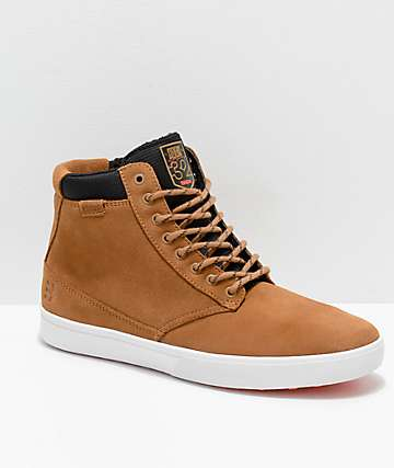 Etnies x ThirtyTwo Jameson HTW Scott Stevens Brown & White Shoes