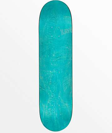 "Expedition One Blank Embossed 7.9"" Skateboard Deck"