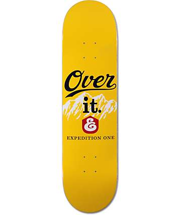 "Expedition One Over It 8.125"" Skateboard Deck"
