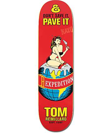 "Expedition One Remillard Pave It 8.25"" Skateboard Deck"