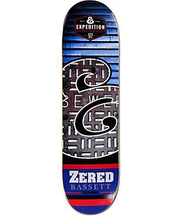 "Expedition One Zered E Fills 8.38"" Skateboard Deck"