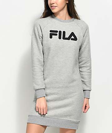FILA Courtney Grey Sweater Dress