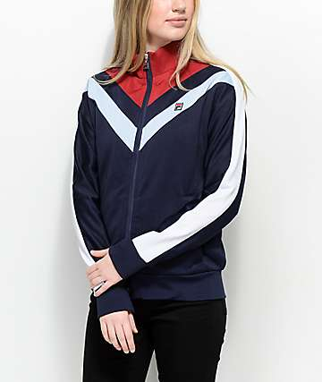 FILA Faith Red, White & Blue Track Jacket