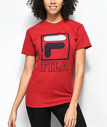 FILA Kayla Red T-Shirt