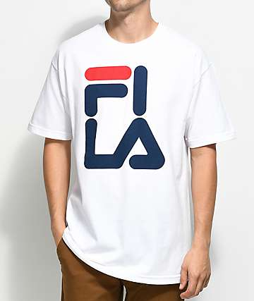 FILA Logo camiseta blanca