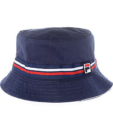 FILA Navy Bucket Hat