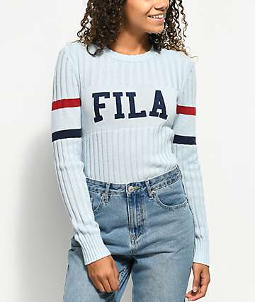 FILA Toni Light Blue Sweater