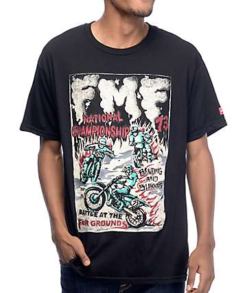FMF Battle At The Fairgrounds Black T-Shirt