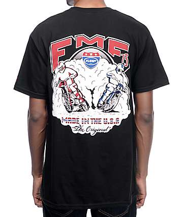 FMF Draggers Black T-Shirt