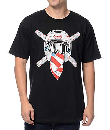 FMF Ronnie Raider Black T-Shirt