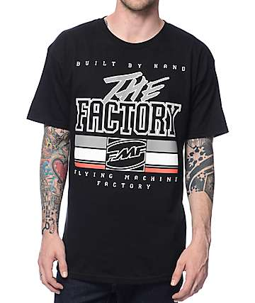 FMF The Factory Black T-Shirt