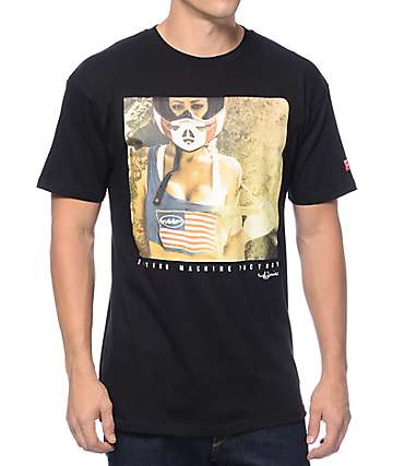 FMF Tina Louise Black T-Shirt