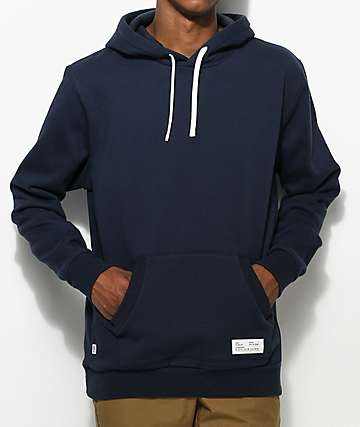 FairPlay Adams Navy Zip Up Hoodie