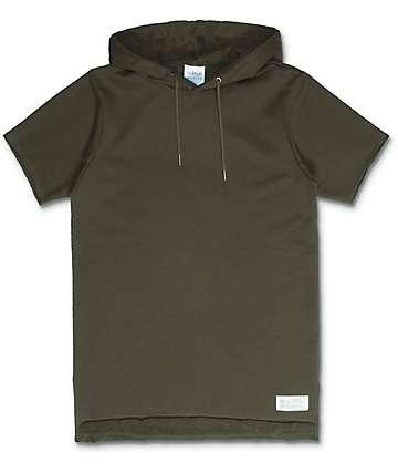 FairPlay Devieo camiseta con capucha en color olivo