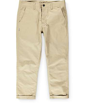 Fairplay Bangcroft Tan Slim Fit Pants