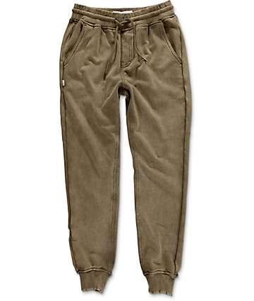 Fairplay Benton pantalones joggers en verde olivo