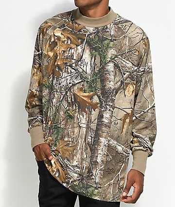 Fairplay Branch Realtree camiseta de cuello simulacro