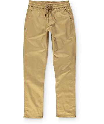 Fairplay Cole Easy Waist Khaki Pants