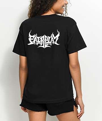 Fairplay Flame Black T-Shirt