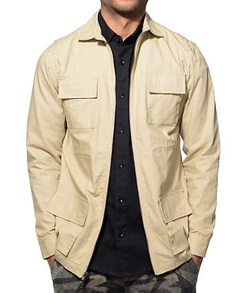 Fairplay Garrison Tan Jacket