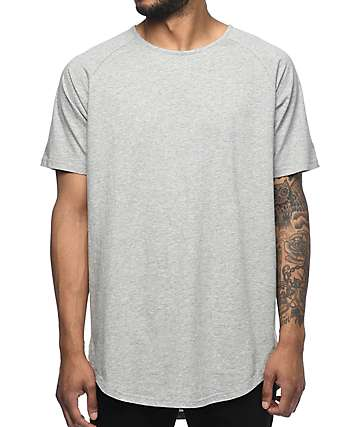 Fairplay Heat Side Split Grey Drop T-Shirt