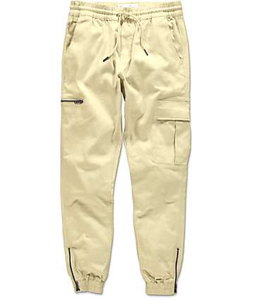 Fairplay Ike Natural Cargo Jogger Pants