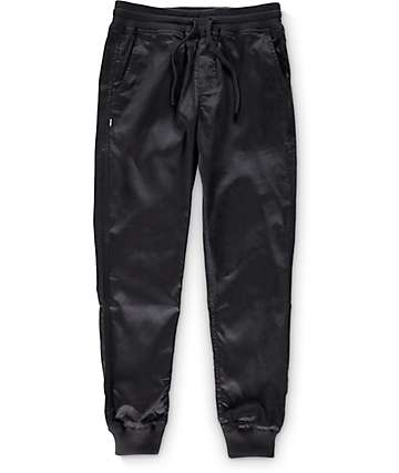 Fairplay Quinn Black Jogger Pants