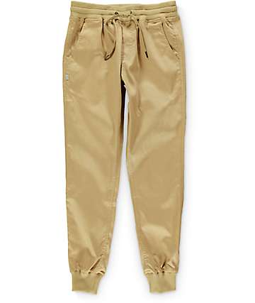 Fairplay Quinn Khaki Jogger Pants
