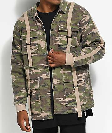 Fairplay Quinton Camo Jacket