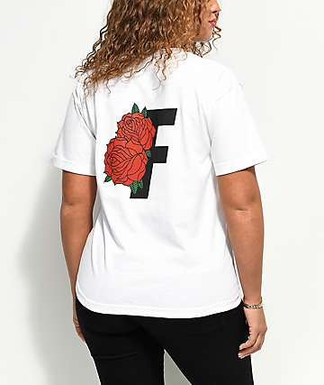 Fairplay Roses White T-Shirt