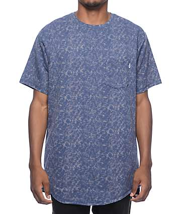 Fairplay Roux Knit Blue Marble Tall T-Shirt