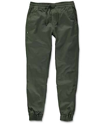 Fairplay Runner Olive Jogger Pants