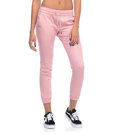 Fairplay Runner pantalones jogger en rosa