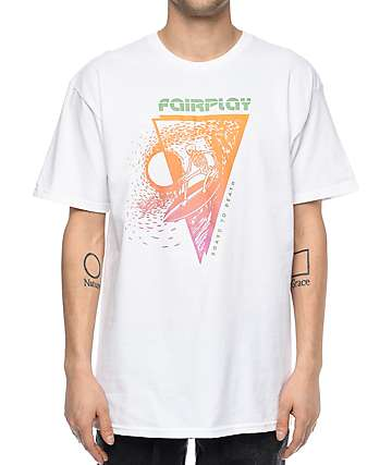 Fairplay Skully White T-Shirt